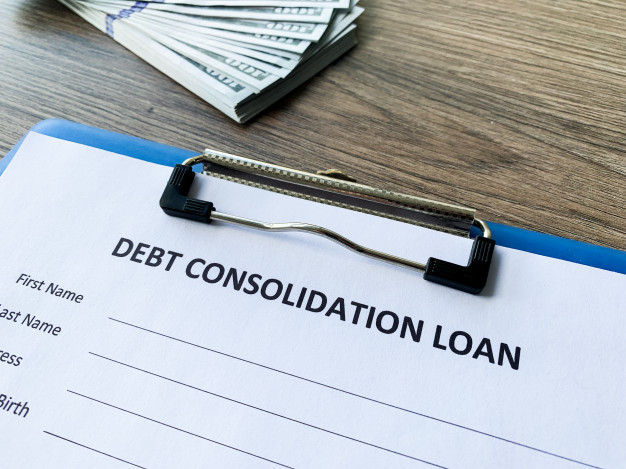 debt-consolidation-loan-document-with-graph-table_118454-1835